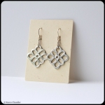 fine silver, sterling silver earrings